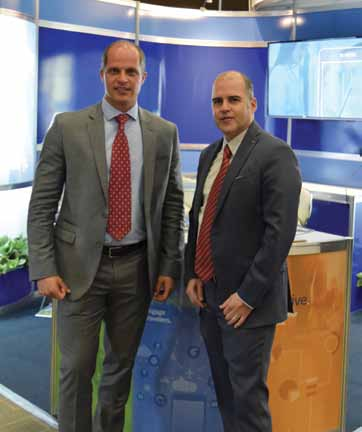 Augusto Zelaya, Senior Director Sales, Beat Wille, Country General Manager de BCD Travel