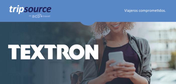 Caso de estudio: Textron utiliza TripSource