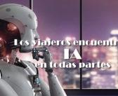 Los viajeros encuentran IA en todas partes